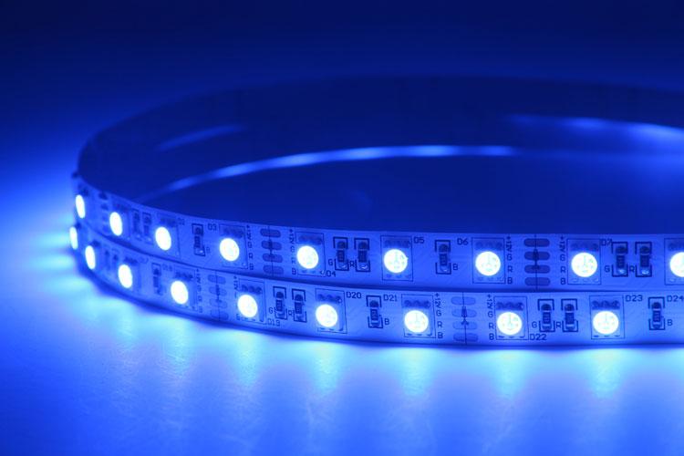 Flexible 16.4' 72W 300 Diodes 5050 RGB LED Strip Light_4