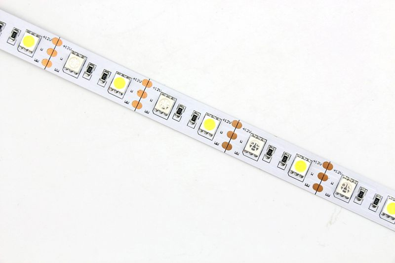 Flexible LED Strip Light with 16.4' 72W 300 Diodes 5050 RGB+W_8