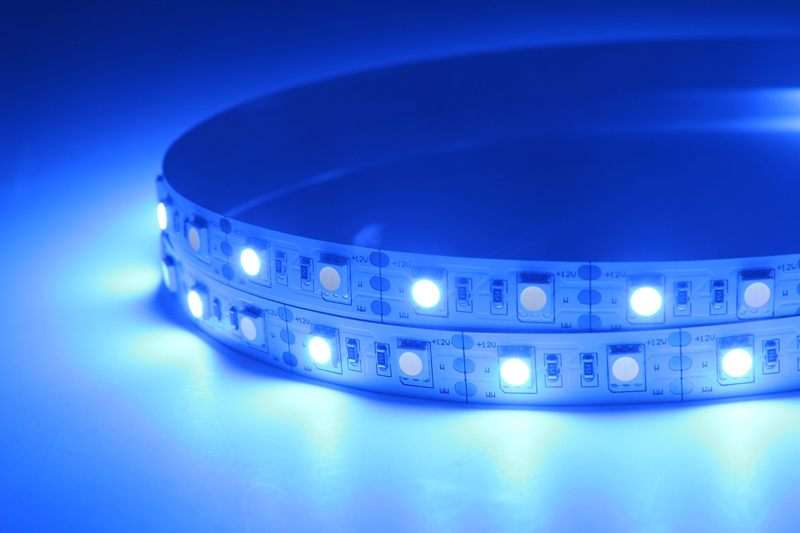 Flexible LED Strip Light with 16.4' 72W 300 Diodes 5050 RGB+W_6
