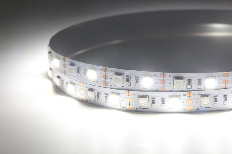 Flexible LED Strip Light with 16.4' 72W 300 Diodes 5050 RGB+W_5