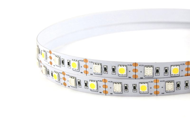 Flexible LED Strip Light with 16.4' 72W 300 Diodes 5050 RGB+W_1