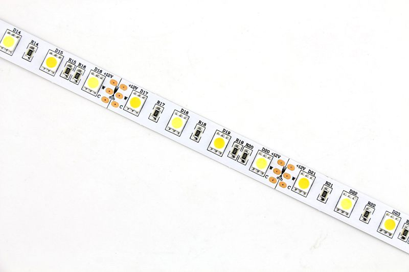 Flexible LED Strip Light with 16.4' 72W 300 Diodes 5050 RGB+W_7