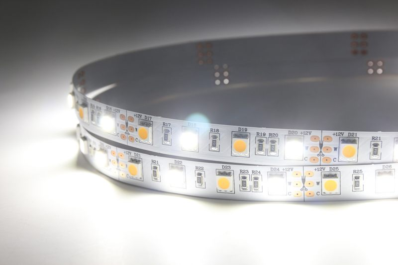 Flexible LED Strip Light with 16.4' 72W 300 Diodes 5050 RGB+W_3