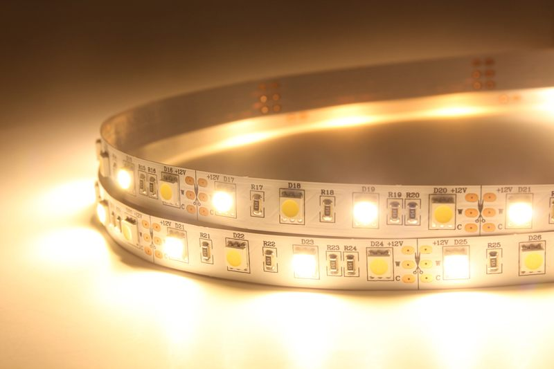 Flexible LED Strip Light with 16.4' 72W 300 Diodes 5050 RGB+W_4