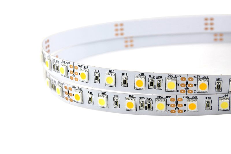 Flexible LED Strip Light with 16.4' 72W 300 Diodes 5050 RGB+W_2