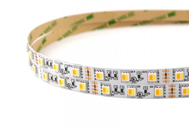 High CRI 16.4' 72W 300 Diodes 5050 LED Strip Light for Food Display