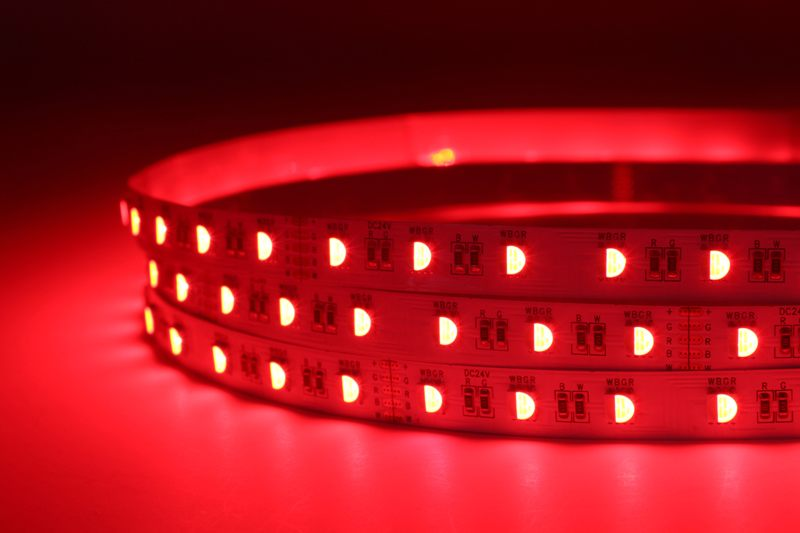 Flexible 16.4' 72W 300 Diodes 4-in-1 5050 RGBW LED Strip Light_6