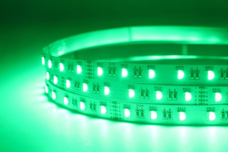 Flexible 16.4' 72W 300 Diodes 4-in-1 5050 RGBW LED Strip Light_5