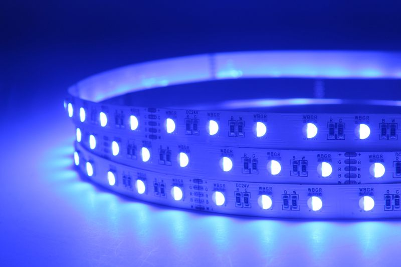 Flexible 16.4' 72W 300 Diodes 4-in-1 5050 RGBW LED Strip Light_4