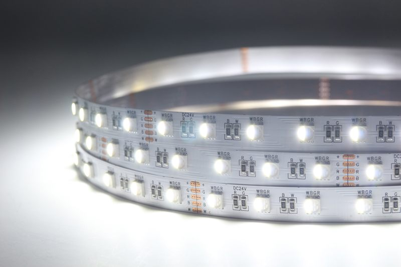 Flexible 16.4' 72W 300 Diodes 4-in-1 5050 RGBW LED Strip Light_3