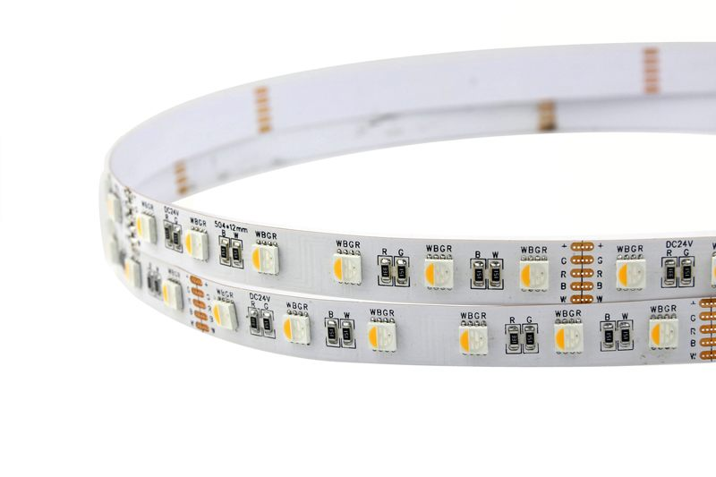 Flexible 16.4' 72W 300 Diodes 4-in-1 5050 RGBW LED Strip Light_7