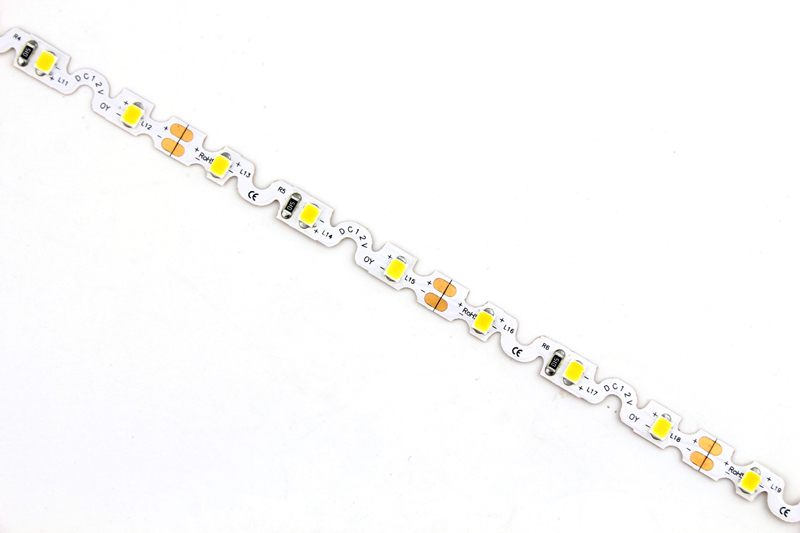 Zigzag Bendable Flexible LED Strip Light with 16.4' 30W 300 Diodes 2835_3