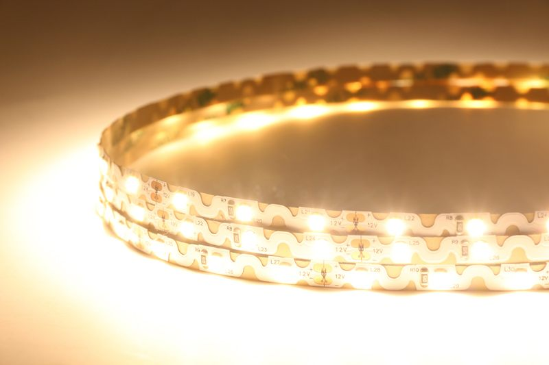 Zigzag Bendable Flexible LED Strip Light with 16.4' 30W 300 Diodes 2835_2