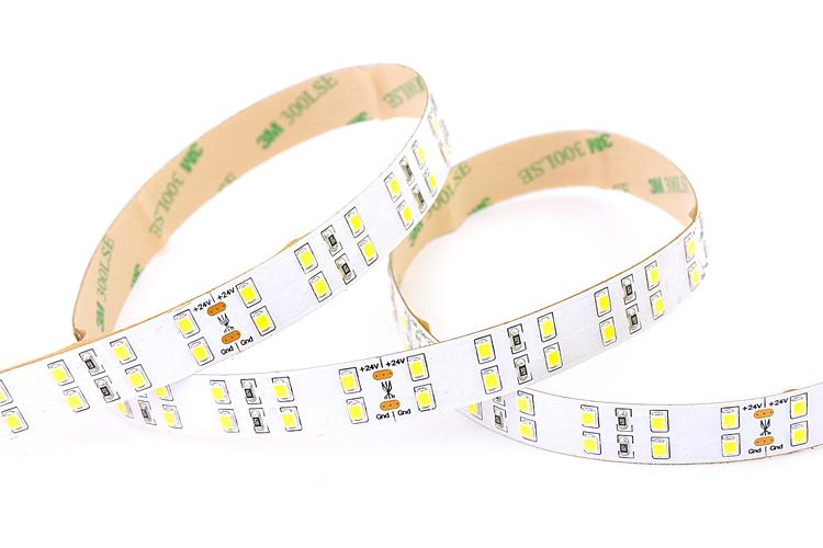 Ultra High Output Double Row 2835 Flexible LED Strip_2