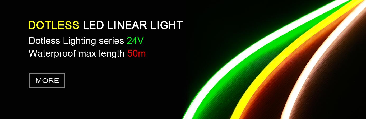 Dotless LED Linear Light