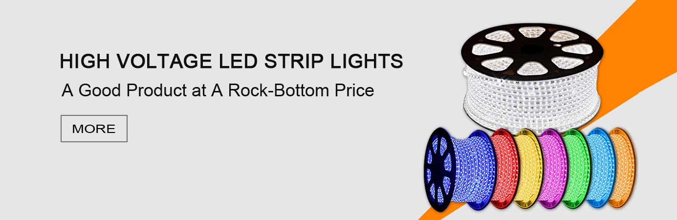 High Voltage Strip lights