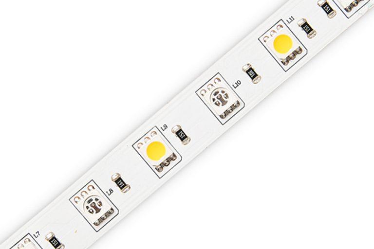 Flexible 16.4' 72W 300 Diodes 5050 RGB+W LED Strip Light_1