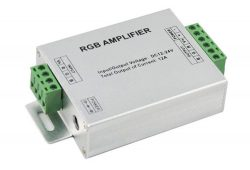 RGB Amplifier for 12V/24V LED Strip Light