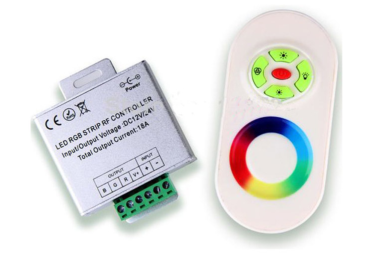 Rainbow Touch RGB Controller for 12V/24V LED Strip Light_2