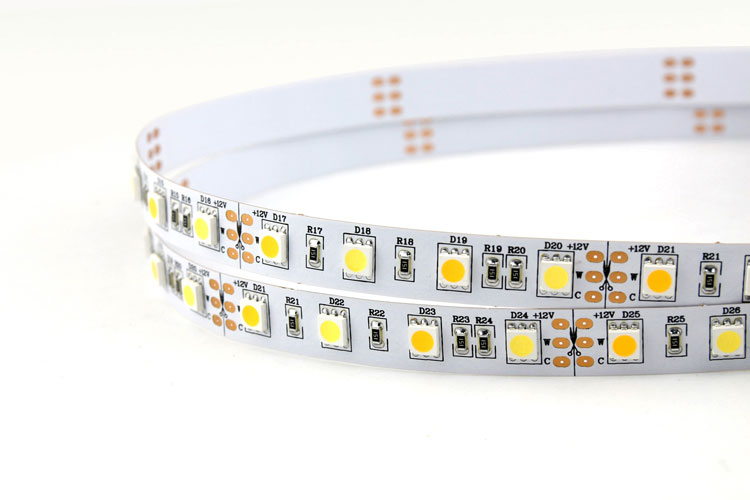 White & Warm white CCT Adjustable Flexible LED Strip Light_1