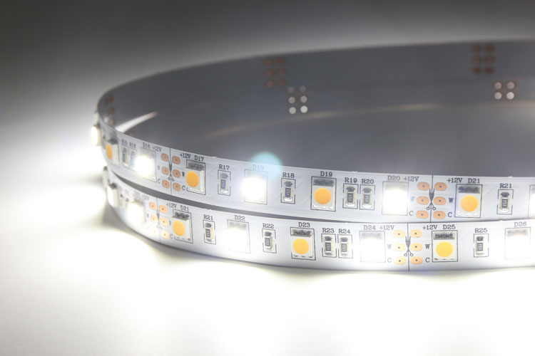 White & Warm white CCT Adjustable Flexible LED Strip Light_2