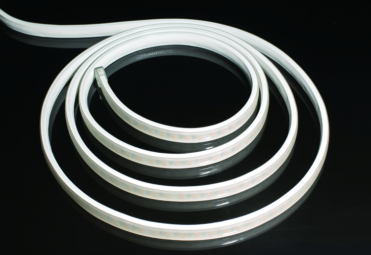 ETL Certified AC Voltage LED Strip Light 8LEDs/10cm Cuttable CRI90 Frosted & Clear Surface_2
