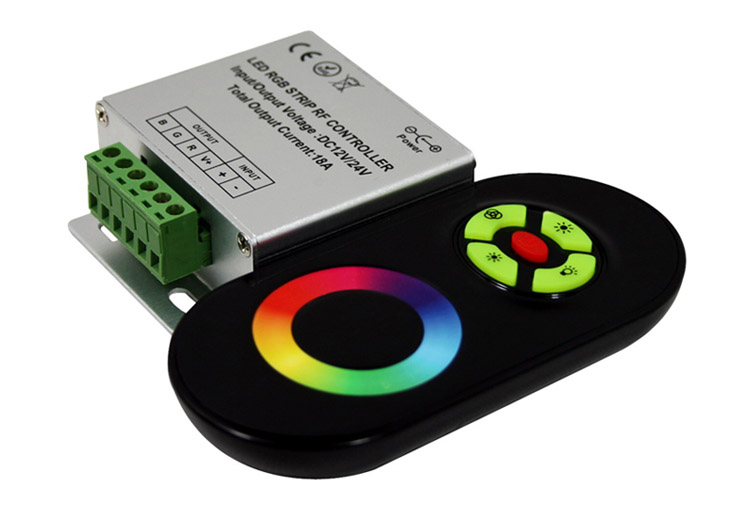 Rainbow Touch RGB Controller for 12V/24V LED Strip Light_1