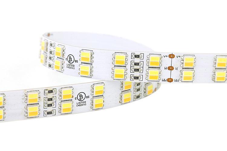 CCT Adjustable Double Row CCT 5050 LED Strip Light