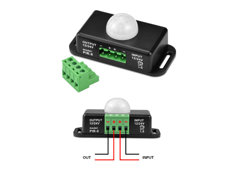 Human Infrared Motion Sensor for LED Strip Light_2