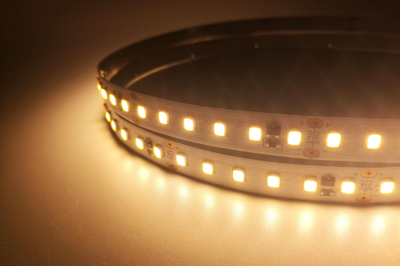 2835 24V Warm White Color Constant Current LED Strip Lights