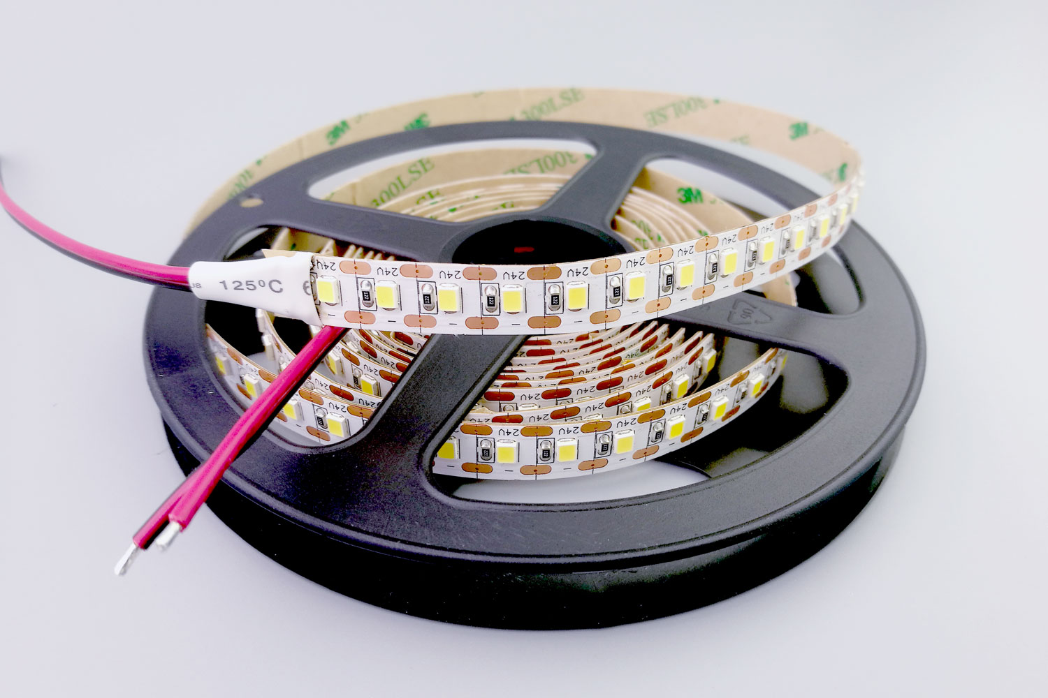2835 120leds/m 24V White Color Short Unit Cuttable LED Strip Lights