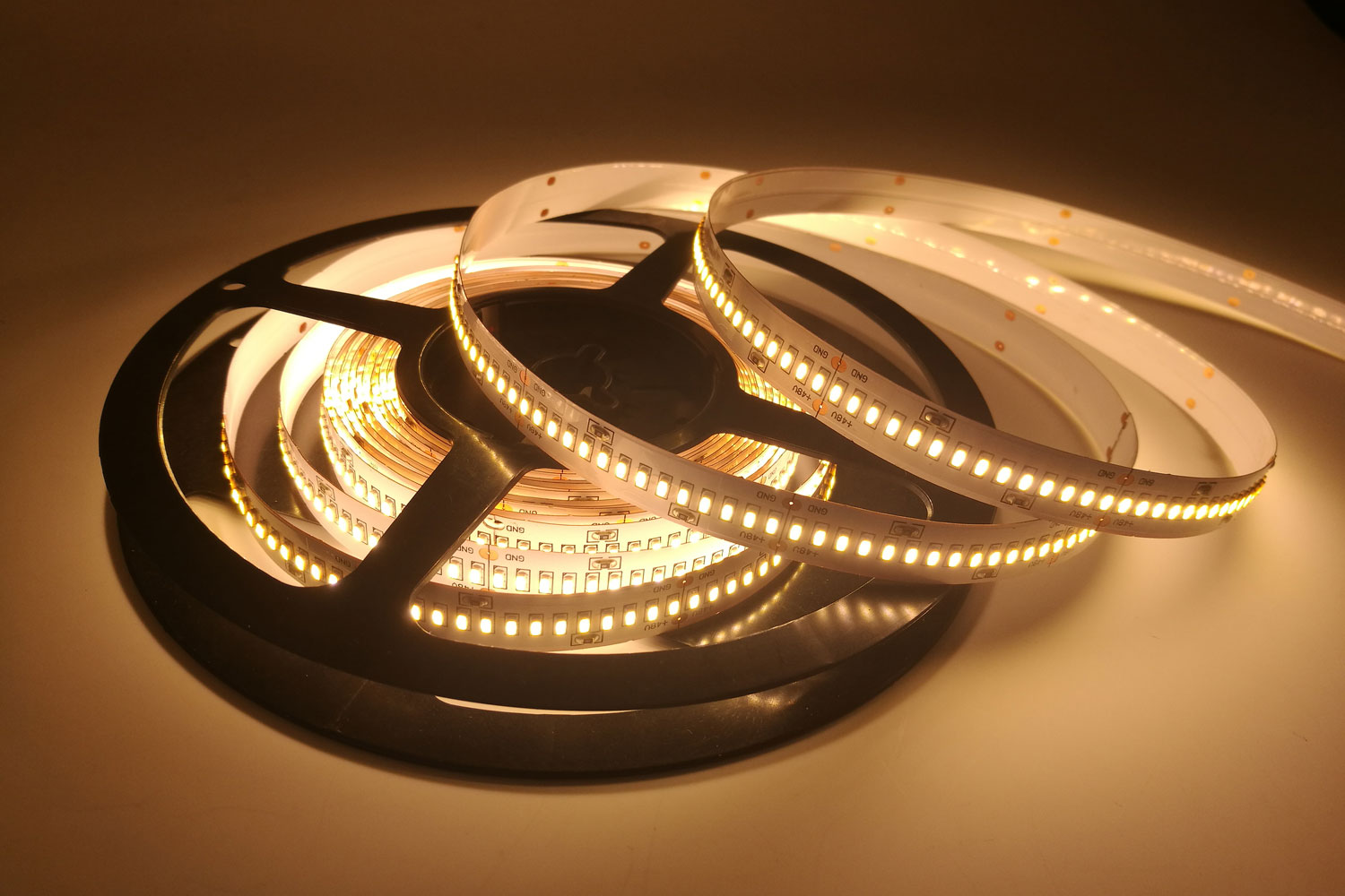 3014 48V Warm White Color LED Strip Lights