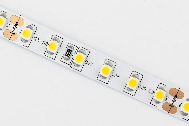 3528 120leds/m 24V Warm White Color LED Strip Lights