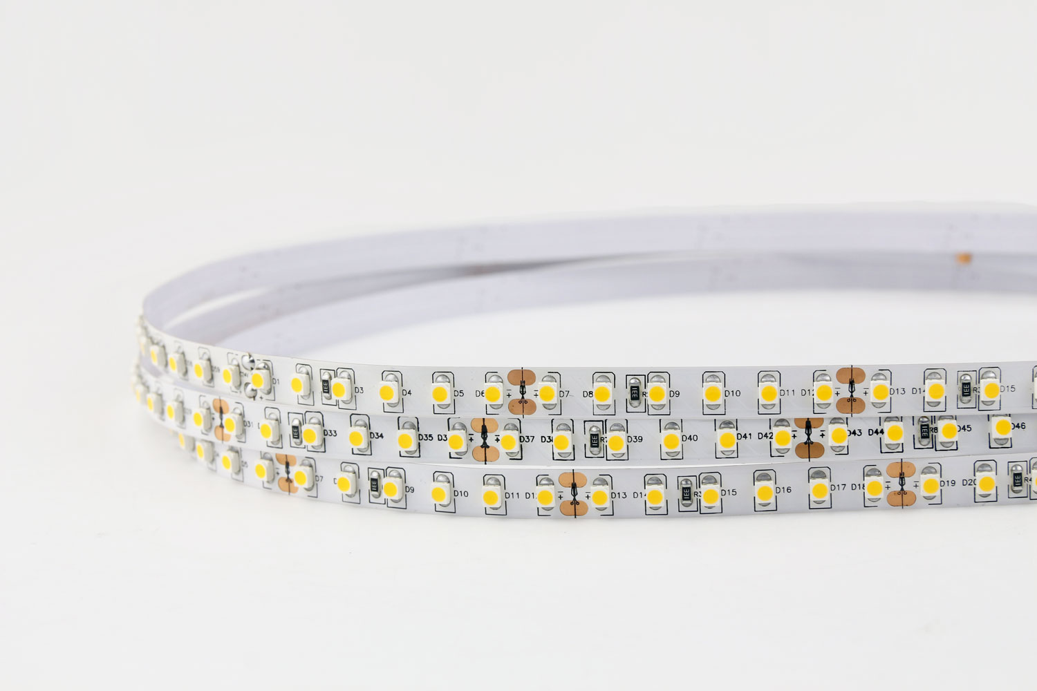 3528 Warm White Color LED Strip Lights