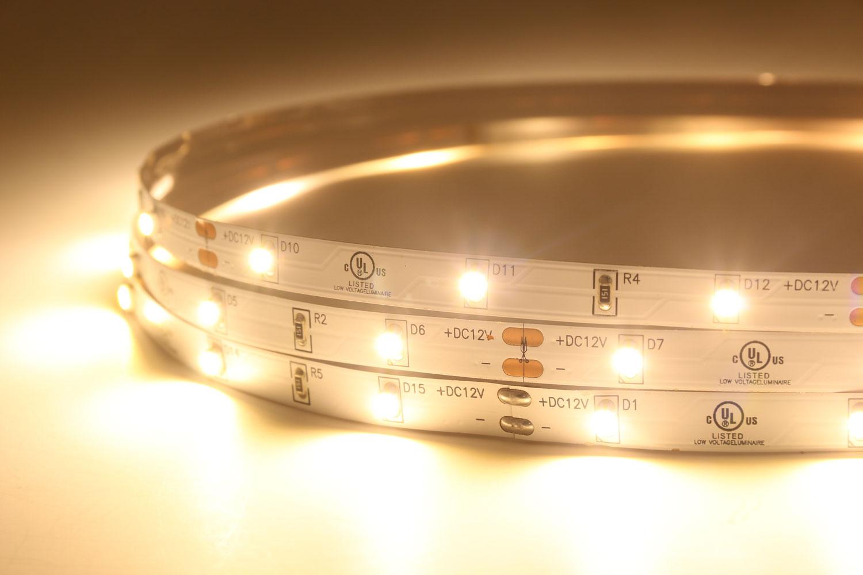 3528 12V Warm White Color LED Strip Lights