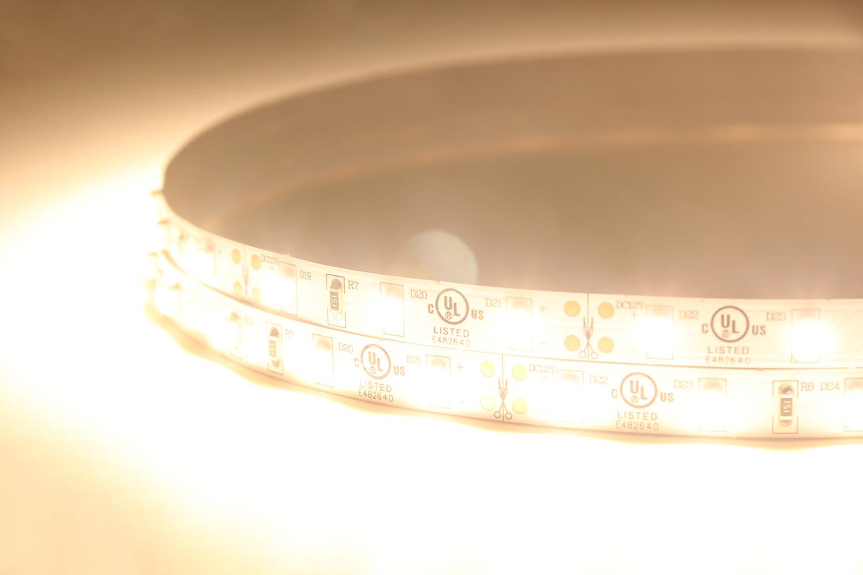 3528 60leds/m 12V Warm White Color LED Strip Lights