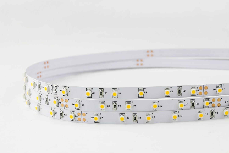 3528 60leds/m 24V Warm White Color LED Strip Lights