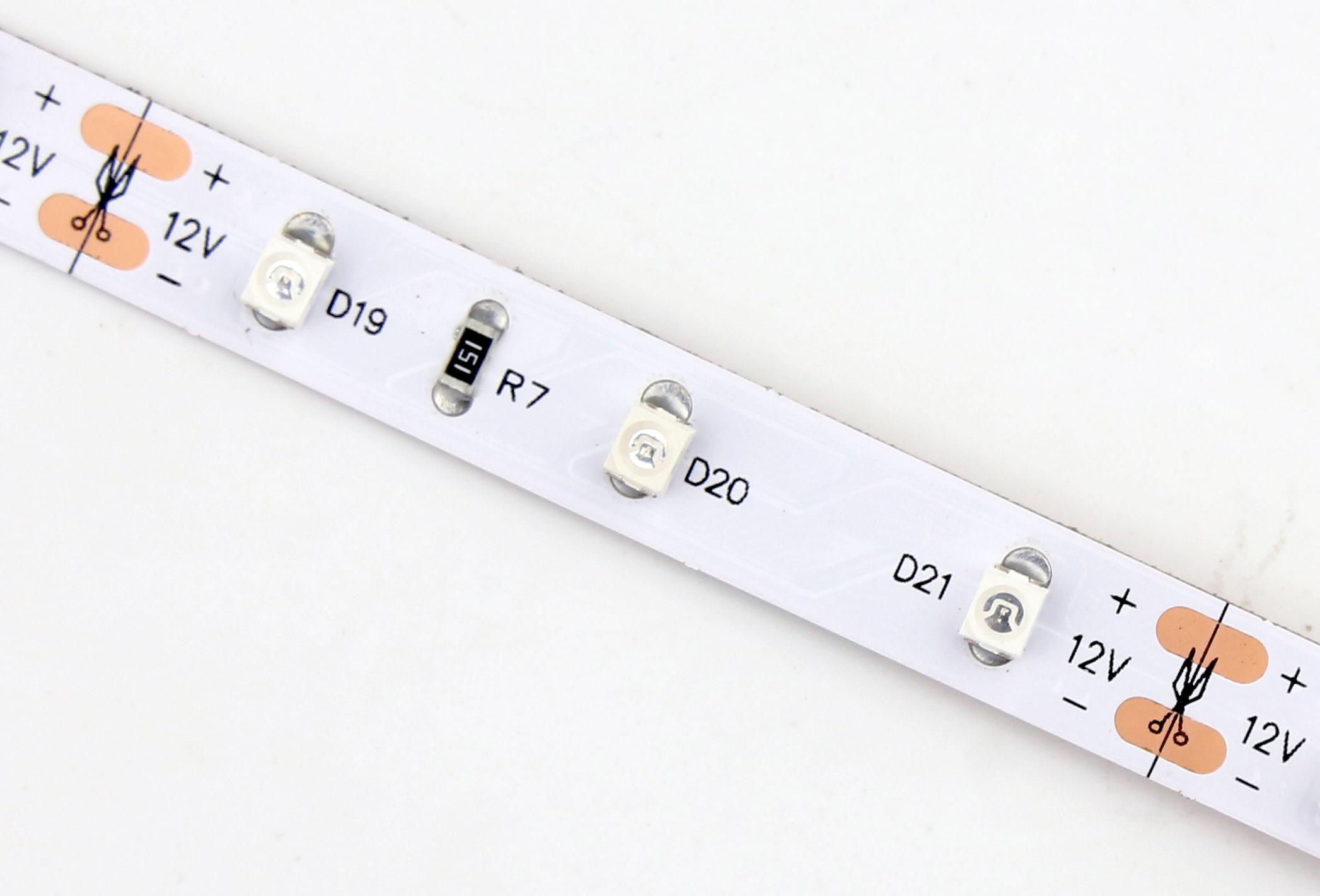 3528 60leds/m 12V Blue Color LED Strip Lights
