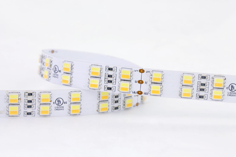 120leds/m 24V CCT Color LED Strip Lights