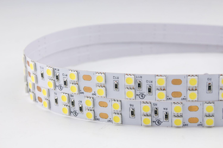 5050 120leds/m 24V White Color LED Strip Lights