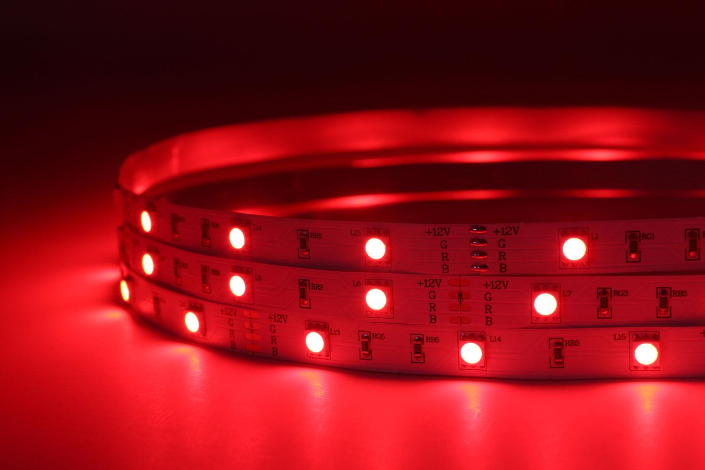 5050 30leds/m 12V RGB Color LED Strip Lights