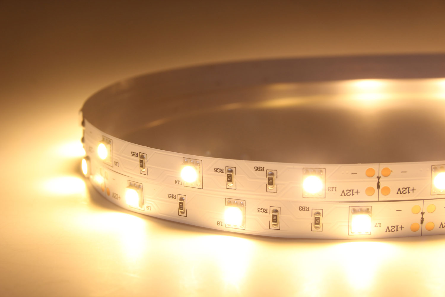 5050 30leds/m 12V Warm White Color LED Strip Lights