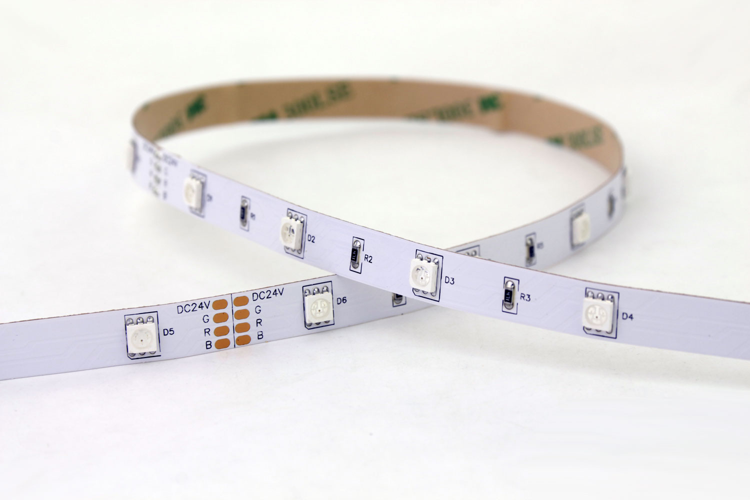 5050 30leds/m 24V RGB Color LED Strip Lights