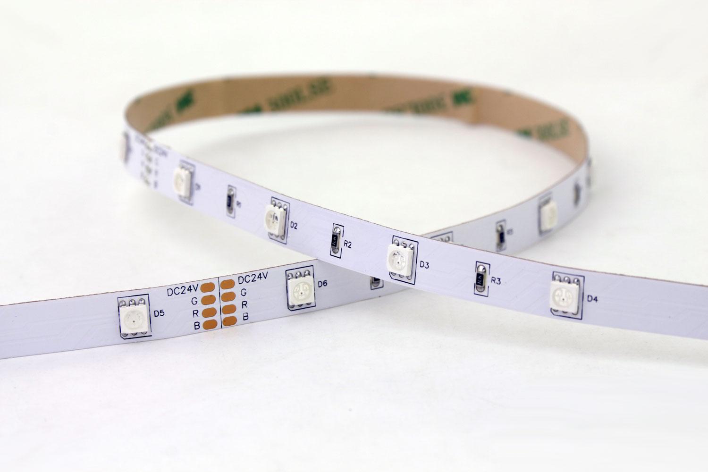 5050 30leds/m 24V RGB Color LED Strip Lights