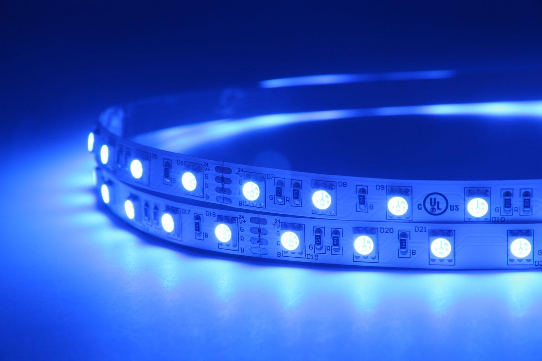 5050 60leds/m 24V RGB Color LED Strip Lights