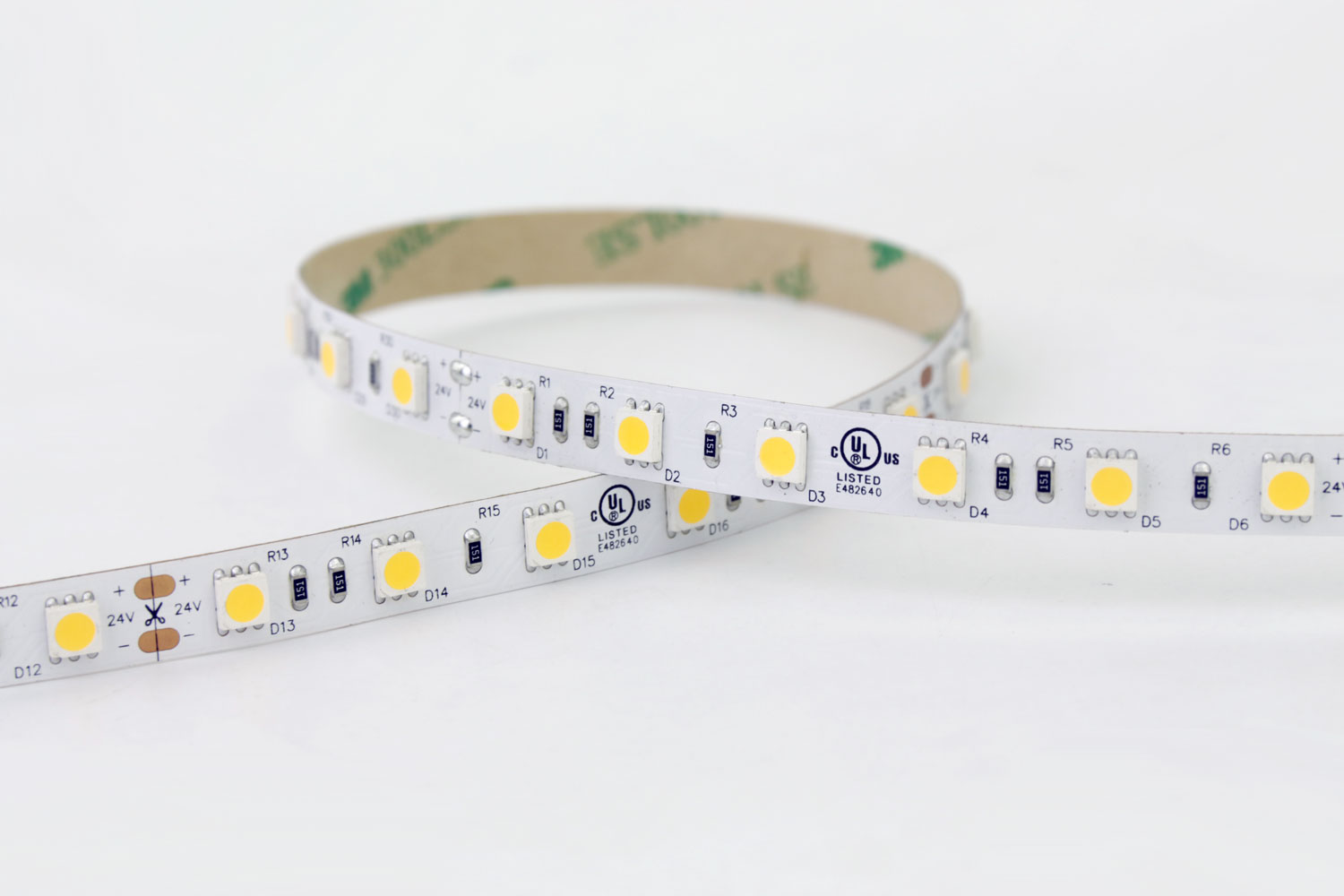 5050 60leds/m 24V White Color LED Strip Lights