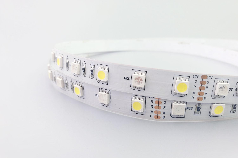 RGB+White Color LED Strip Lights