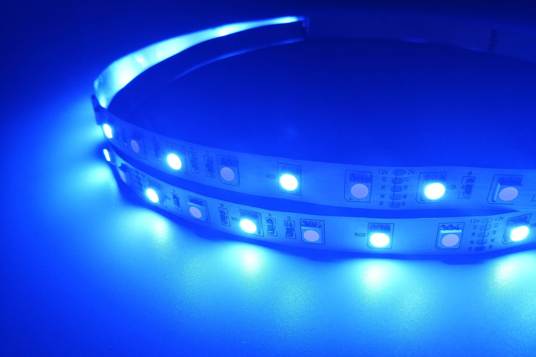 5050 60leds/m 12V RGB+White Color LED Strip Lights