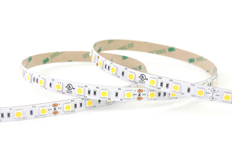 5050 60leds/m 12V Warm White Color LED Strip Lights