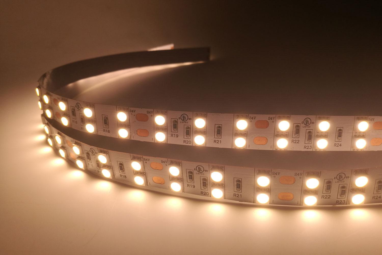 5050 120leds/m 24V Warm White Color LED Strip Lights